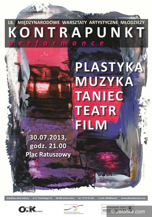 Jelenia Góra: Performance na Placu Ratuszowym – we wtorek