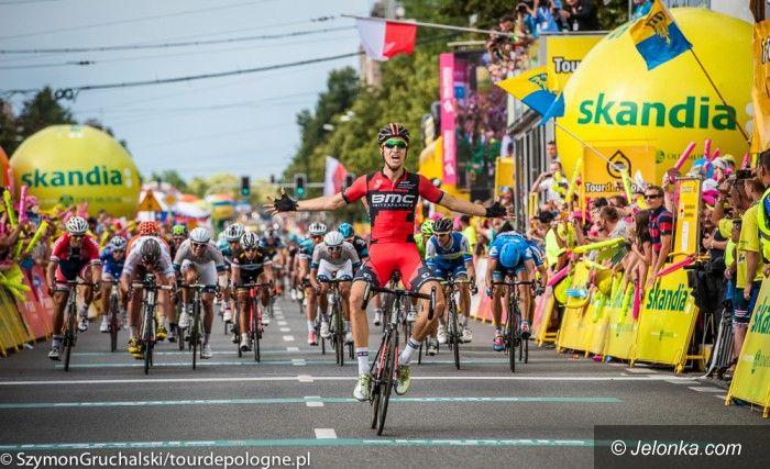Kraj: Tour de Pologne na półmetku, Polak z żółtą koszulką lidera