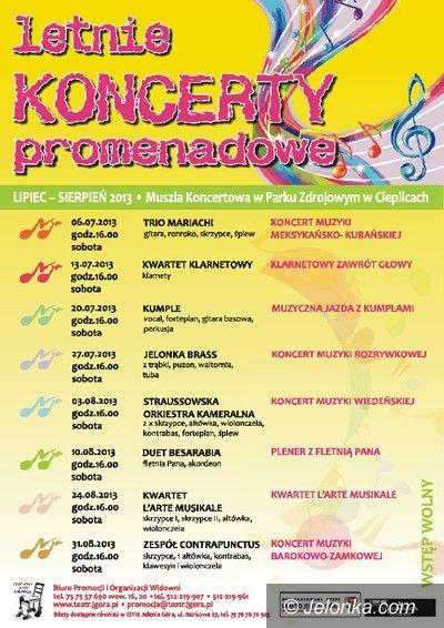 Jelenia Góra: Koncert muzyki wiedeńskiej już dziś w Cieplicach