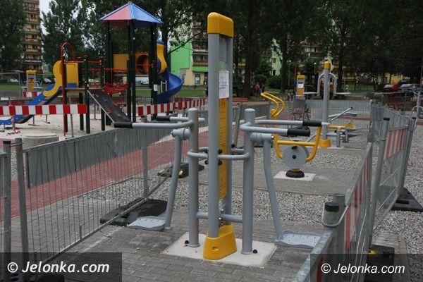 Jelenia Góra: Dziś otwierają plac zabaw i siłownię na Zabobrzu