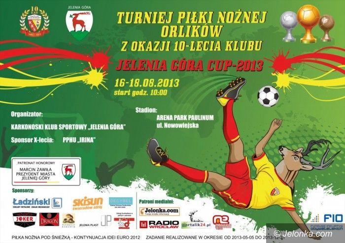 Jelenia Góra: Turniej Jelenia Góra Cup 2013 z okazji 10–lecia KKS–u!