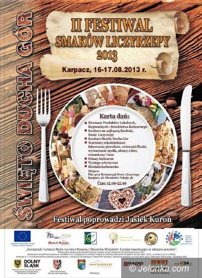 Region: Festiwal Smaków Liczyrzepy już od jutra