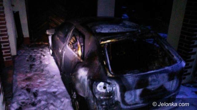 Borowice: Podpalenie czterech aut w Borowicach