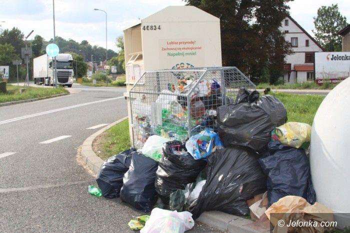 Jelenia Góra: Czytelniczka: Jelenia Góra wita… stertą śmieci