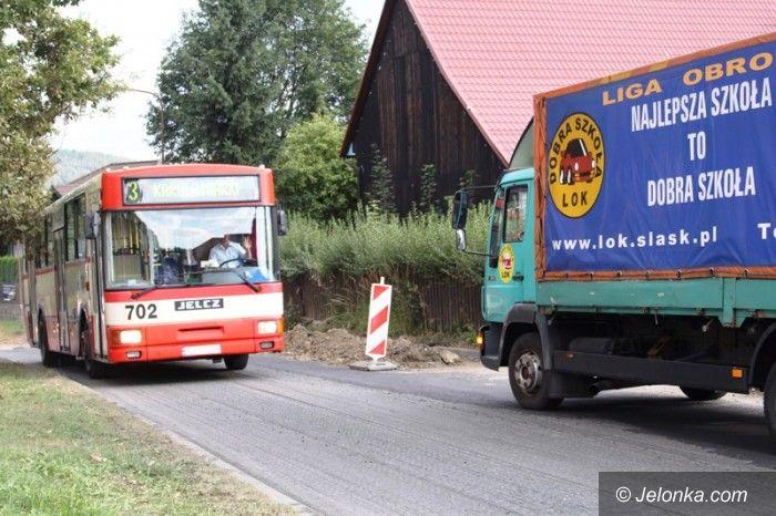 Jelenia Góra: Lepsza droga do strefy przemysłowej
