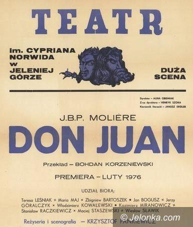 """Jelenia Góra: Trwają próby do """"Don Juana"""" wg Moliera"""