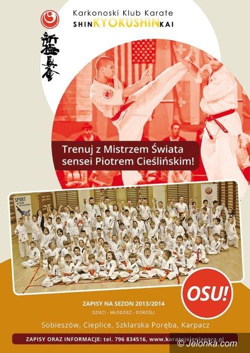 Jelenia Góra: Ruszyły zapisy do Karkonoskiego Klubu Karate