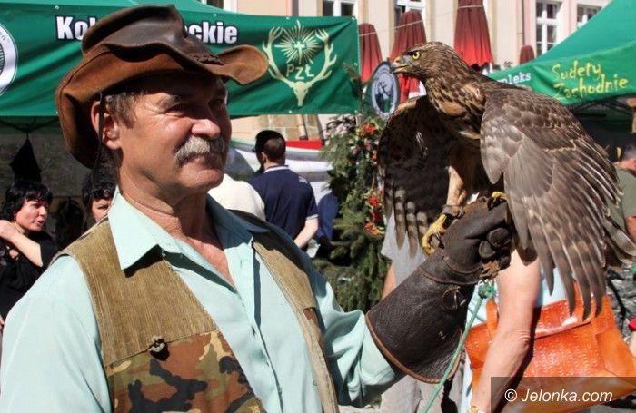 Jelenia Góra/region: Hubertus na Placu Ratuszowym – świętowali myśliwi