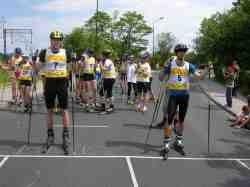 Jeżów Sudecki: Mistrzostwa Karkonoszy w biegach na nartorolkach