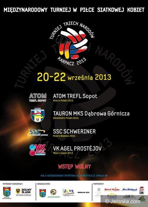 Karpacz: Karpacz gospodarzem Międzynarodowego Turnieju o Puchar Trzech Narodów