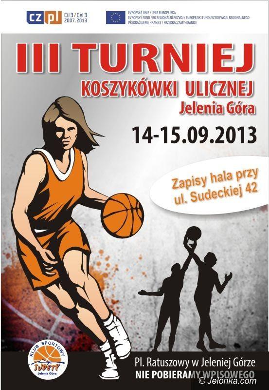 Jelenia Góra: Zbliża się jeleniogórski turniej koszykówki ulicznej