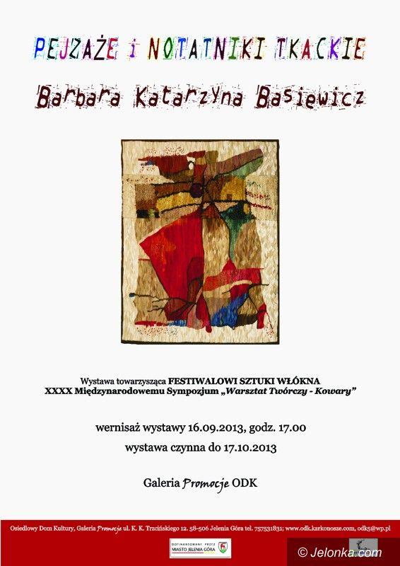 Jelenia Góra: Pejzaże i notatniki tkackie w ODK