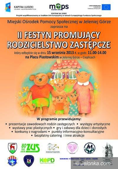 Jelenia Góra: Festyn Promujący Rodzicielstwo Zastępcze w niedzielę