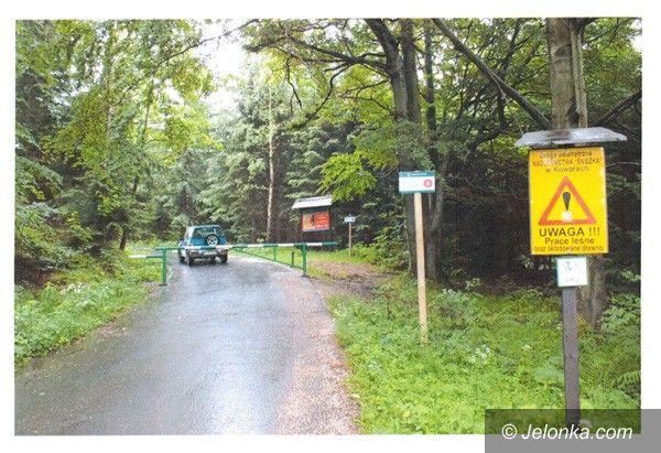 Region: Problem ze znakiem drogowym w Przesiece