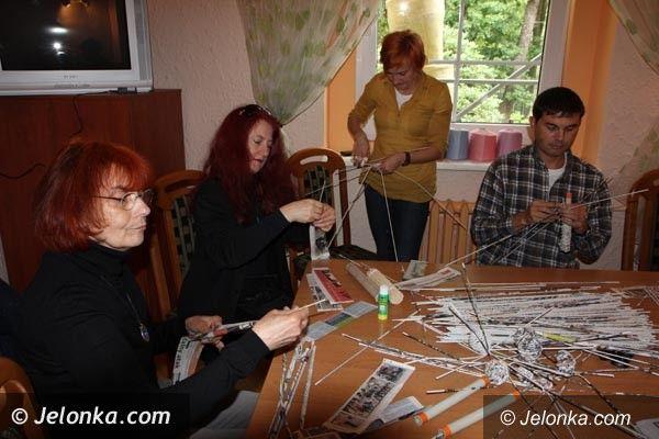 Region: Na Festiwalu Sztuki Włókna powstają piękne prace