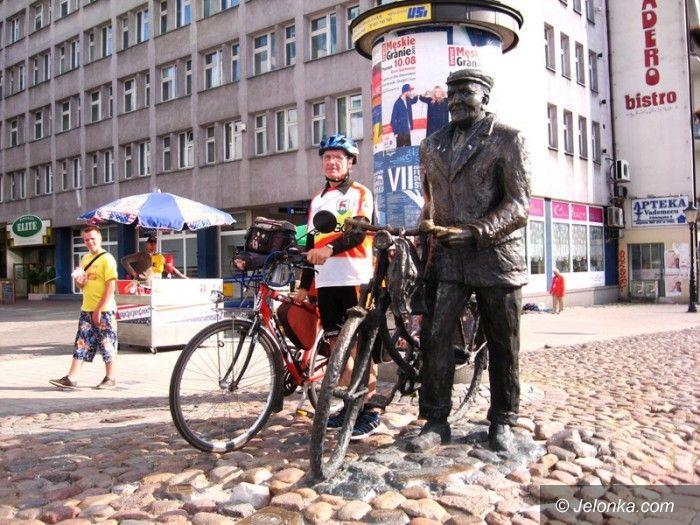 Jelenia Góra: Ostatnia daleka podróż rowerowego ambasadora Jeleniej Góry