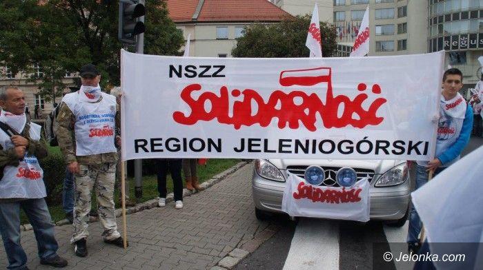 Kraj/Jelenia Góra: Jeleniogórscy związkowcy z