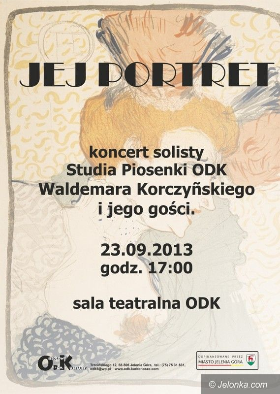 Jelenia Góra: Jej portret – dzisiaj koncert w ODK