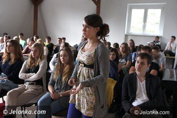 Jelenia Góra: Uczniowie Norwida: Lekcje z mistrzem są super!
