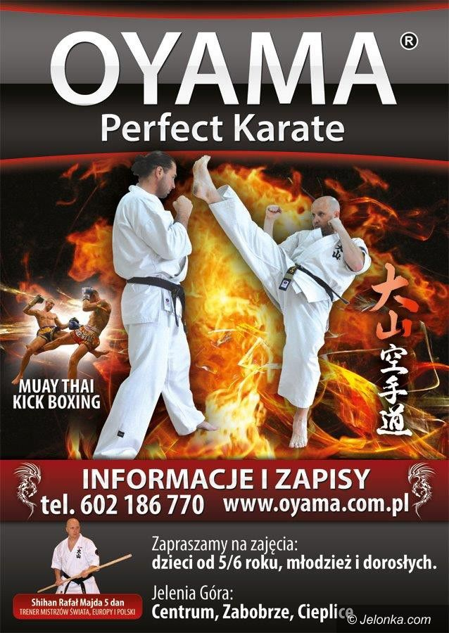 Jelenia Góra: JK Oyama Karate zaprasza na treningi
