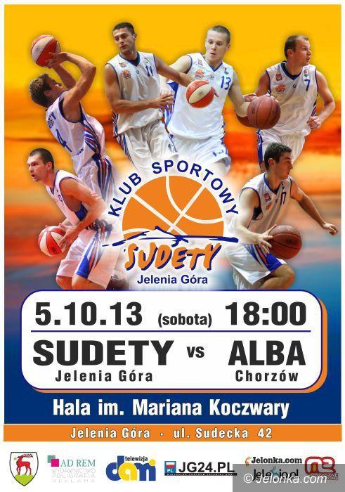 II-liga koszykarzy: Sudety podejmą Albę Chorzów