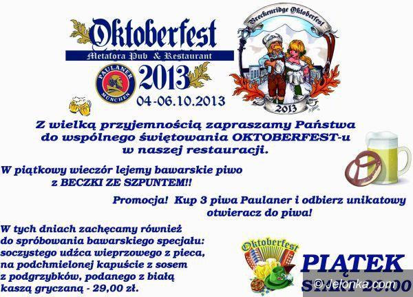 Jelenia Góra: W Metaforze trwa Oktoberfest