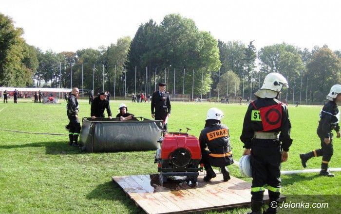 Jelenia Góra: Strażacy ochotnicy walczyli na Lubańskiej