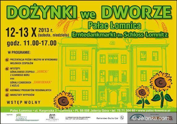 Łomnica: Dożynki w folwarku przy Pałacu Łomnica – od jutra