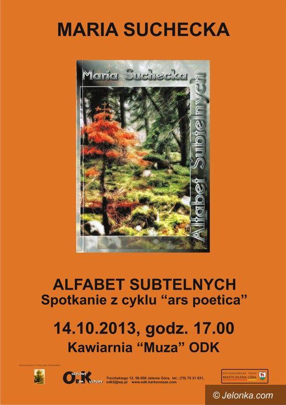 Jelenia Góra: Spotkanie z Marią Suchecką jutro w ODK
