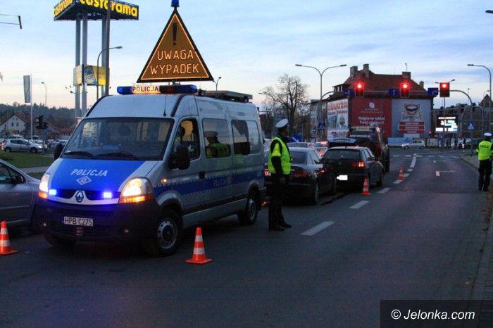 Jelenia Góra: Karambol czterech aut na Grunwaldzkiej