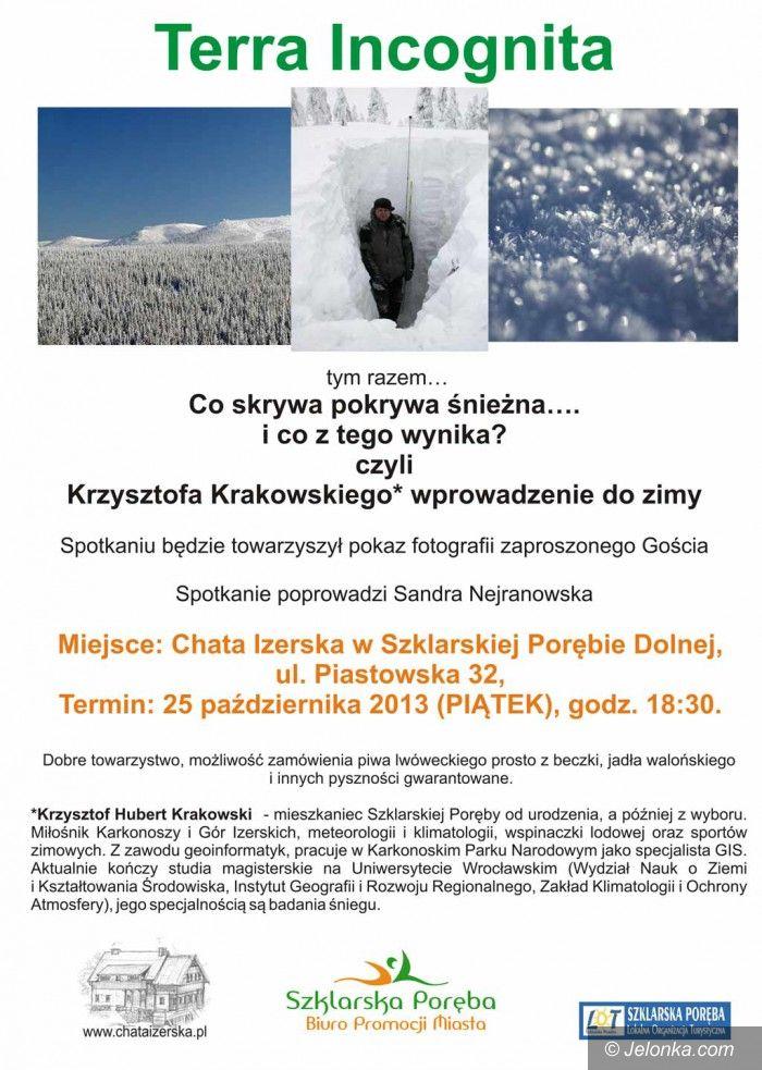 Szklarska Poręba: Śnieg, czyli... Terra Incognita już w piątek