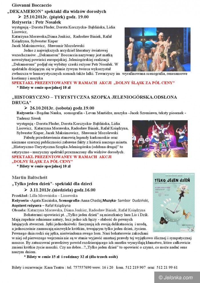 Jelenia Góra: Dekameron i Szopka w Teatrze Zdrojowym