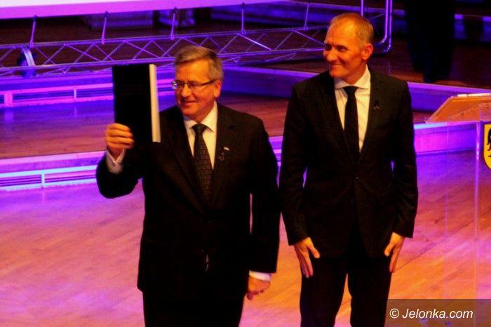 Jelenia Góra: Prezydent Polski: Jelenia Góra... górą