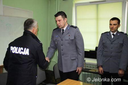 Jelenia Góra: Nowy komendant Komisariatu I jeleniogórskiej policji