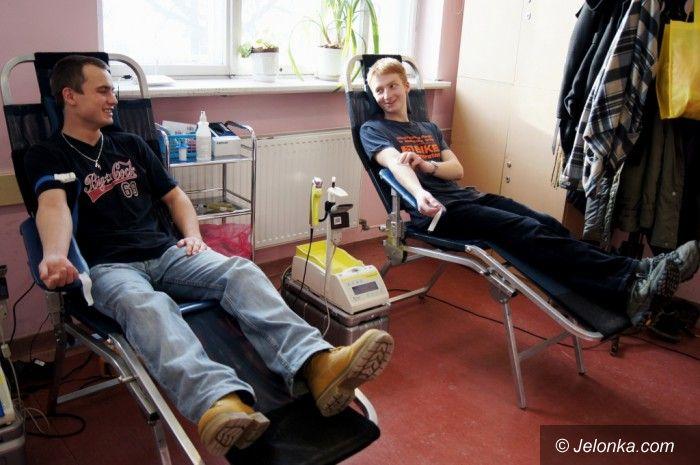 Jelenia Góra: Nie bądź żyła. Oddaj krew!