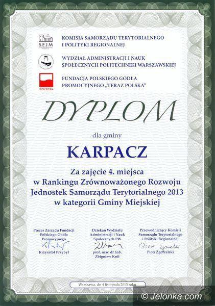 Karpacz: Karpacz wysoko w ogólnopolskich rankingach