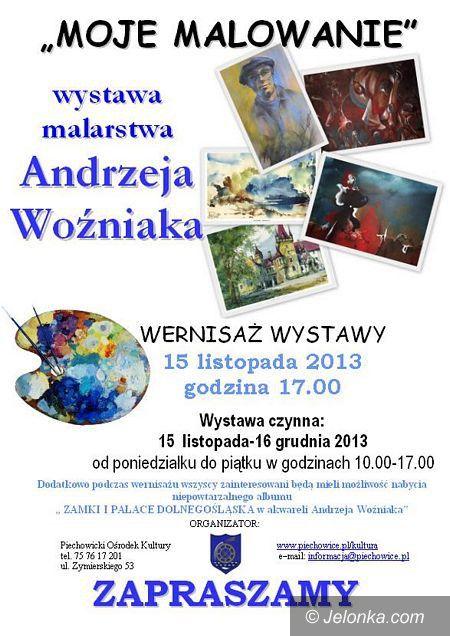 Piechowice: Wernisaż malarstwa Andrzeja Woźniaka jutro w Piechowicach