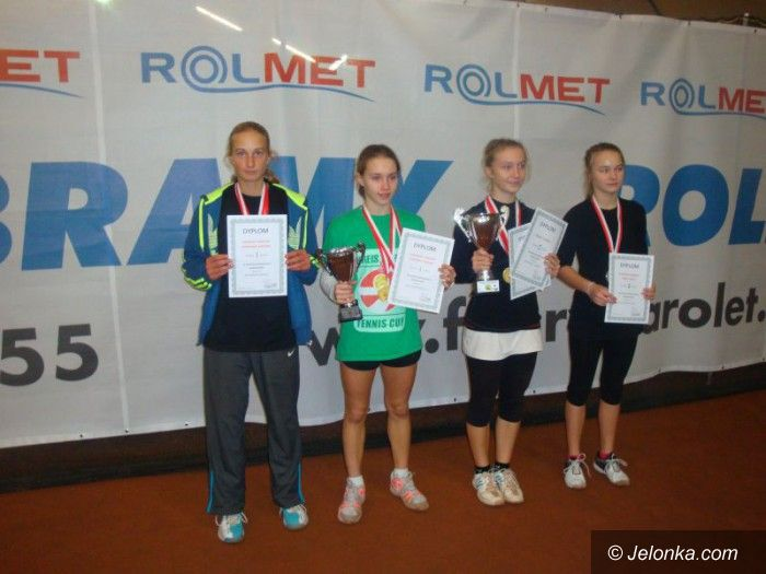 Jelenia Góra: Młodzi tenisiści walczyli o prymat na Dolnym Śląsku