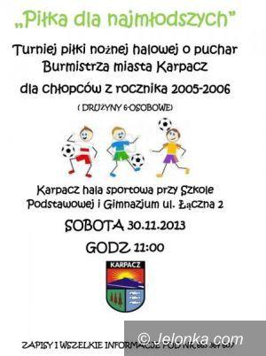 Karpacz: Młodzi piłkarze zagrają o puchar burmistrza
