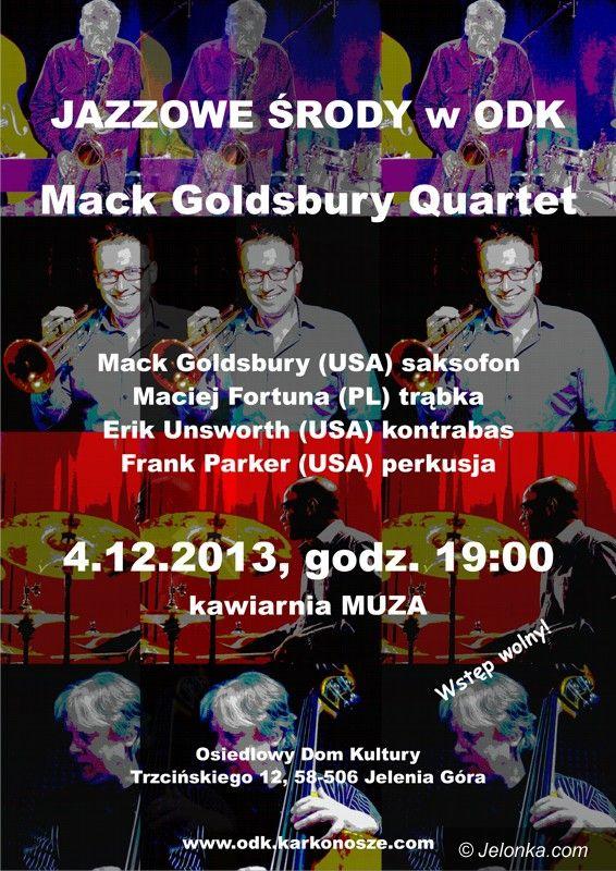 Jelenia Góra: Jazzowa środa z Mack Goldsbury Quartet w ODK