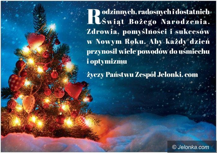Jelenia Góra: Radosnych Świąt Bożego Narodzenia!