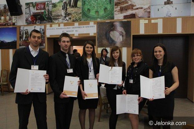 Jelenia Góra: Nasi studenci ekonomii otworzyli własną firmę