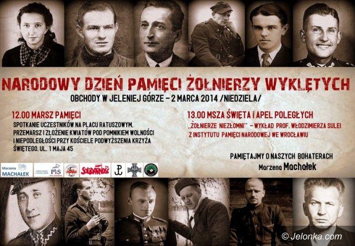 Jelenia Góra: Pamięci Żołnierzy Wyklętych