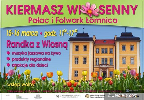 """Łomnica: """"Randka z wiosną"""" na kiermaszu w Łomnicy"""