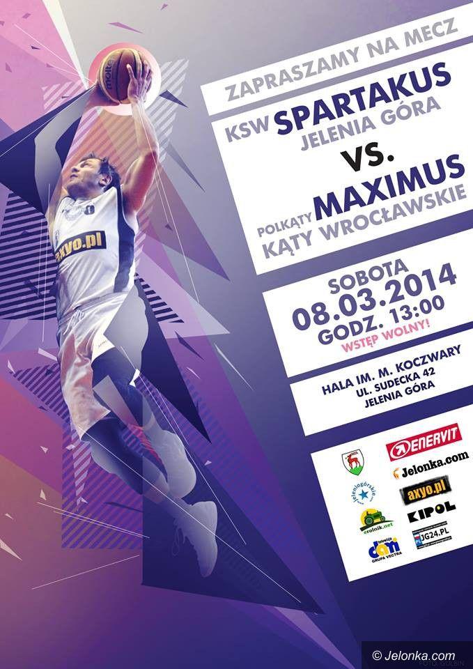 III-liga koszykarzy: Spartanie podejmą Maximusa