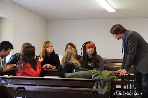 Jelenia Góra: Przyszli studenci zwiedzili nasz Uniwersytet Ekonomiczny