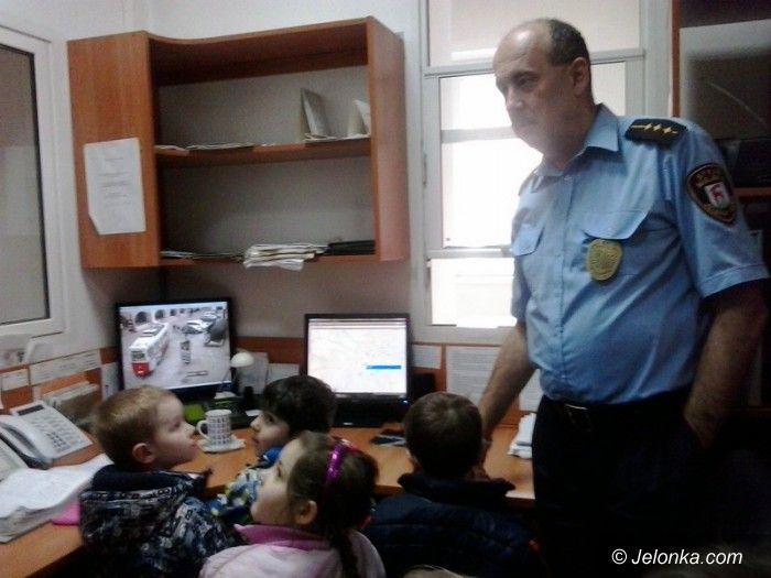 Jelenia Góra: Maluchy w straży miejskiej