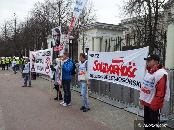 Warszawa/Jelenia Góra: Po manifestacji pod ambasadą rosyjską w Warszawie