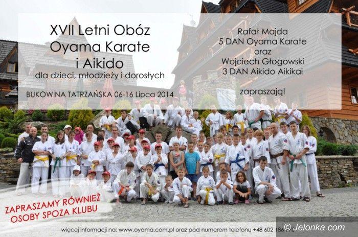 Jelenia Góra/Bukowina T: XVII Letni Obóz Oyama Karate i Aikido