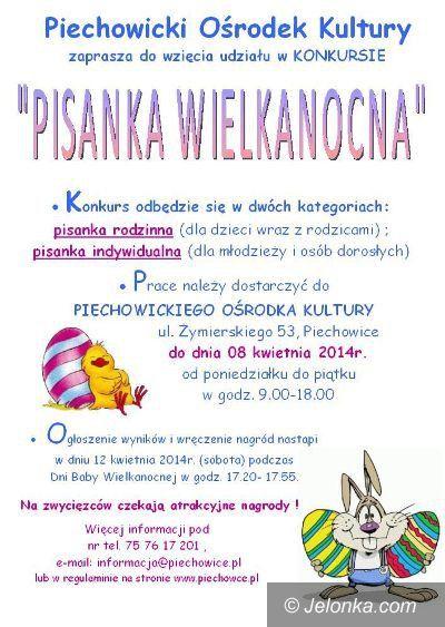 Piechowice: Konkurs pisanek w Piechowicach